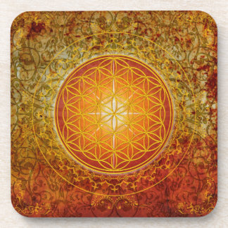 Flower of Life - Ornament III Coaster