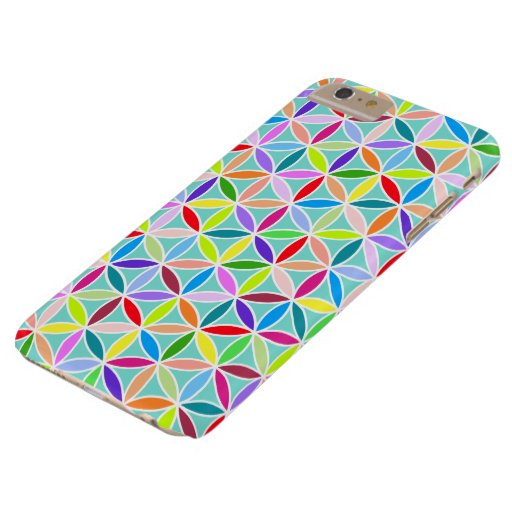 Flower of Life Pattern – Multicoloured Barely There iPhone 6 Plus Case