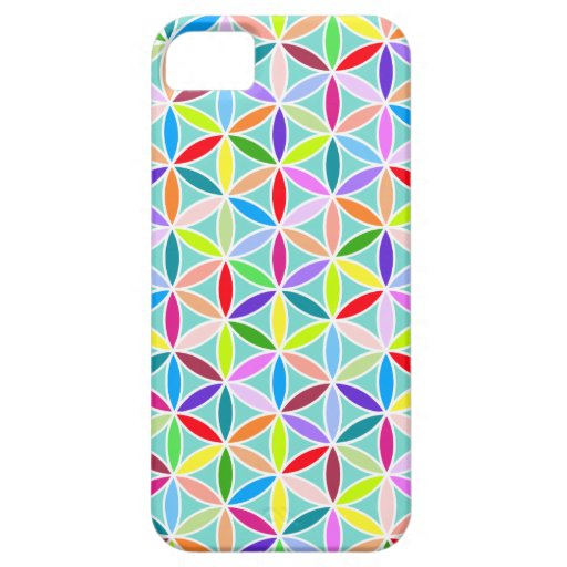 Flower of Life Pattern – Multicoloured Cover For iPhone 5/5S