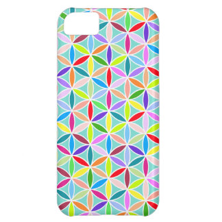 Flower of Life Pattern – Multicoloured iPhone 5C Covers