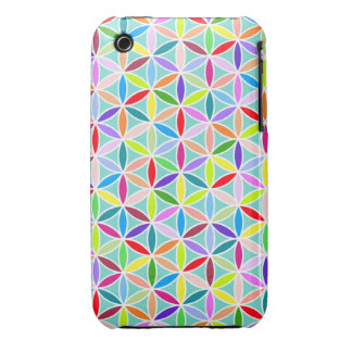 Flower of Life Pattern – Multicoloured iPhone 3 Covers
