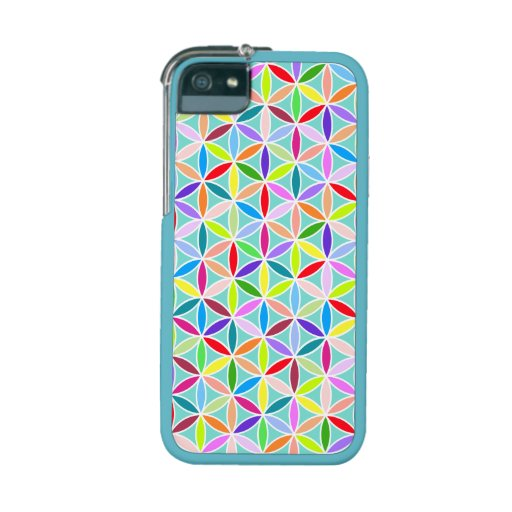 Flower of Life Pattern – Multicoloured iPhone 5/5S Cases