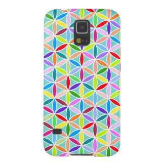 Flower of Life Pattern – Multicoloured Galaxy S5 Cases