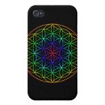 Flower of Life (rainbow) sacred geometry symbol