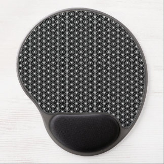 Flower Of Life Sacred Geometry Gel Mouse Pad