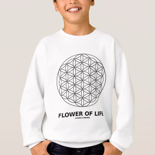 Flower Of Life (Sacred Geometry) Sweatshirt