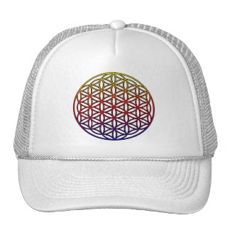 Flower of Life Sacred Geometry Symbol - 1 Cap