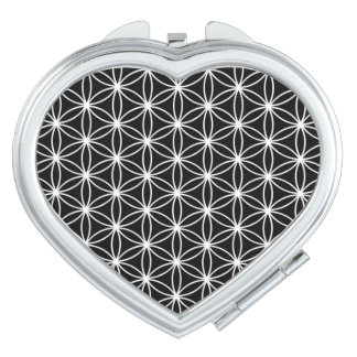 Flower Of Life Sacred Geometry Travel Mirrors