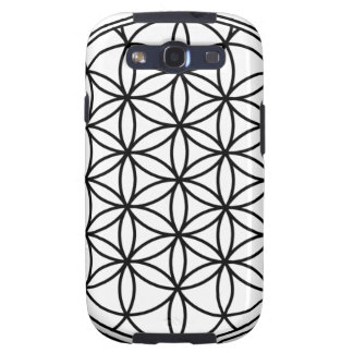 Flower of Life Simple Sacred Geometry Samsung Galaxy SIII Cover