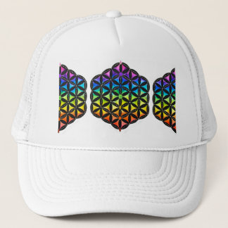 Flower of Life Snapback By Megaflora Trucker Hat
