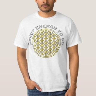 FLOWER OF LIFE - SPIRIT ENERGY TO GO T-Shirt