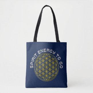 Flower Of Life - spirit energy to go Tote Bag