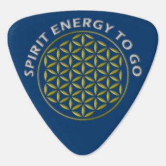 FLOWER OF LIFE - stamp - Spirit Energy to go Plectrum