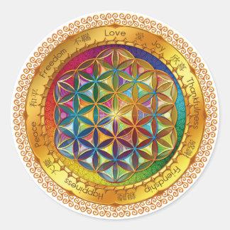 Flower of Life Sticker - ORIGINAL Design by Lilyas