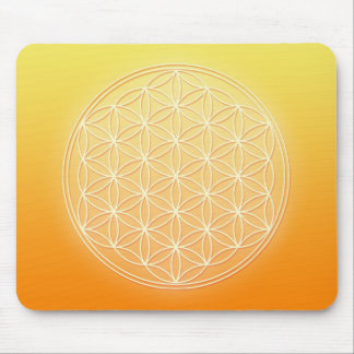 Flower of Life - Sun Energy Mouse Pad