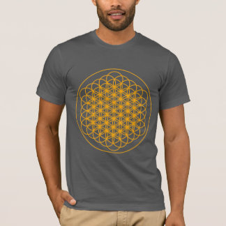 FLOWER OF LIFE T SHIRT BY DMT SPIRITUAL GRAFITTI