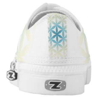 Flower of Life Zips! Low Tops