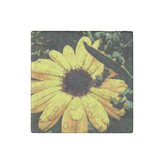 Flower of Love Stone Magnet
