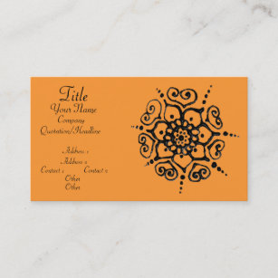 Mehndi Designs Business Cards Business Card Printing Zazzle Uk