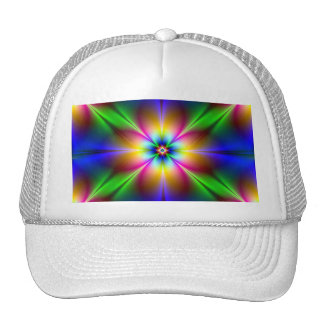 Flower of Neon Power Cool Bro/Guy/Little Brother Hat