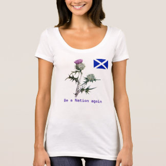 Flower of Scotland Independence T-Shirt