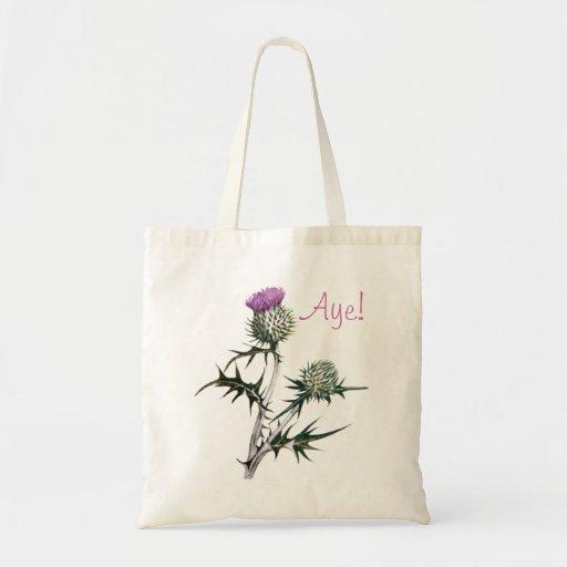 Flower of Scotland Scottish Independence Tote Bag