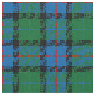 Flower Of Scotland Tartan Print Fabric