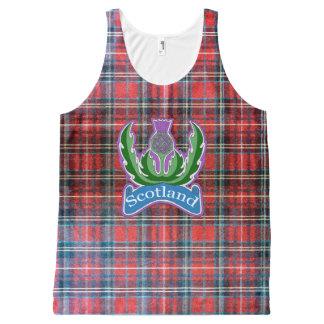 `Flower of Scotland' Unisex All Over Print Tank