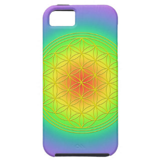 Flower of the life Chakra 1 Tough iPhone 5 Case
