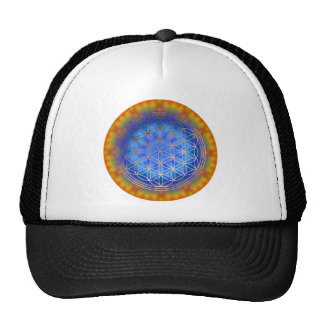 Flower of the life motive 14 hat