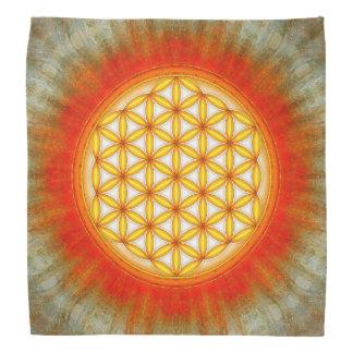 Flower of the life - sun II Bandana