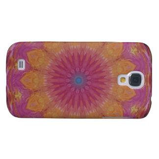 Flower of watercolor galaxy s4 case