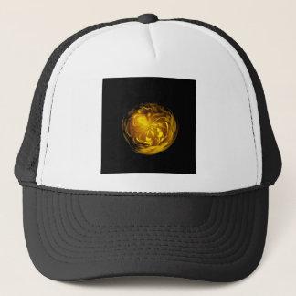 Flower of yellow in globe cap