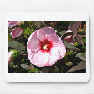 Flower Oil Painting Mouse Pad