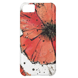 Flower on a White Background iPhone 5C Case
