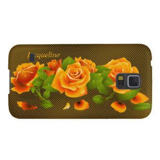Flower Orange Roses Samsung Galaxy Nexus Case Galaxy S5 Cover