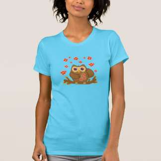 Flower Owl T-shirts