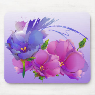 Flower Painting Mother's Day Gift Mousepads