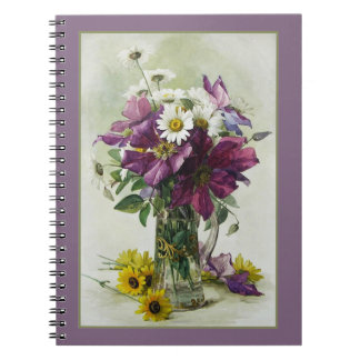 Flower Painting Mother's Day Gift Notebook