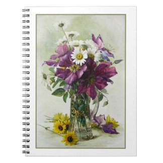 Flower Painting Mother's Day Gift Notebooks