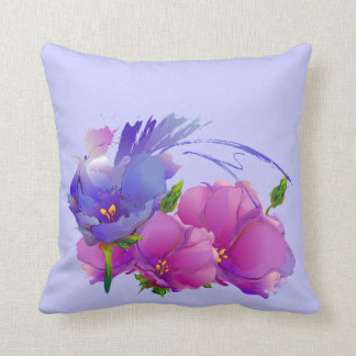 Flower Painting Mother's Day Gift Pillow