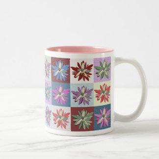 Flower Patchwork Mug