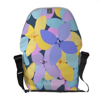 Flower Pattern 1 Messenger Bag