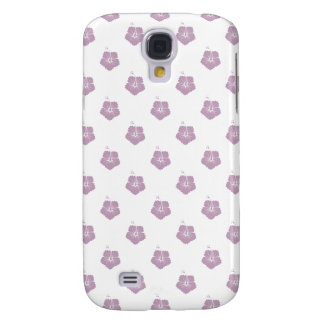 Flower Pattern 3 Mauve Mist Samsung Galaxy S4 Cover