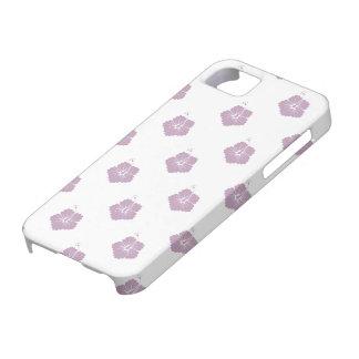 Flower Pattern 3 Mauve Mist iPhone 5/5S Cases