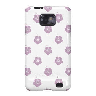 Flower Pattern 3 Mauve Mist Samsung Galaxy SII Covers