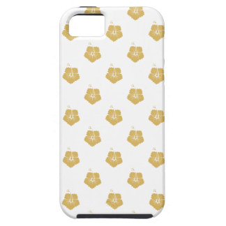 Flower Pattern 3 Misted Yellow iPhone 5 Case