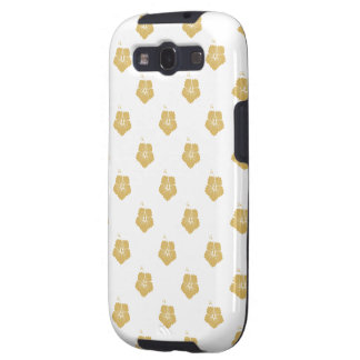 Flower Pattern 3 Misted Yellow Samsung Galaxy SIII Cases