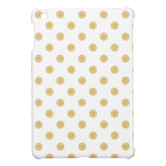 Flower Pattern 4 Misted Yellow iPad Mini Cover