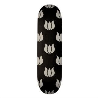 Flower Pattern 5 Aluminum Custom Skateboard